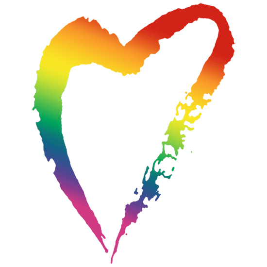 gay pride rainbow heart logo | WeddingGirl. - ClipArt Best - ClipArt ...