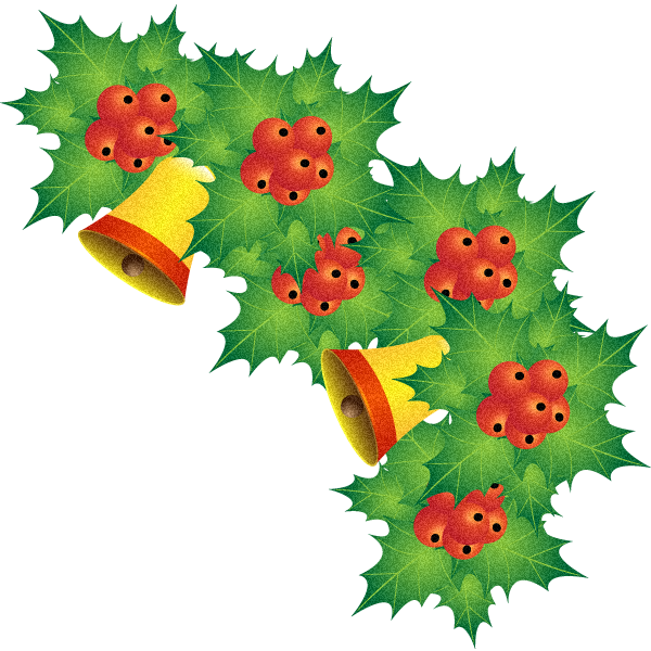 free xmas clipart holly - photo #35