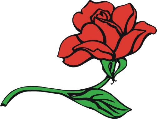rose clip art sms - photo #29
