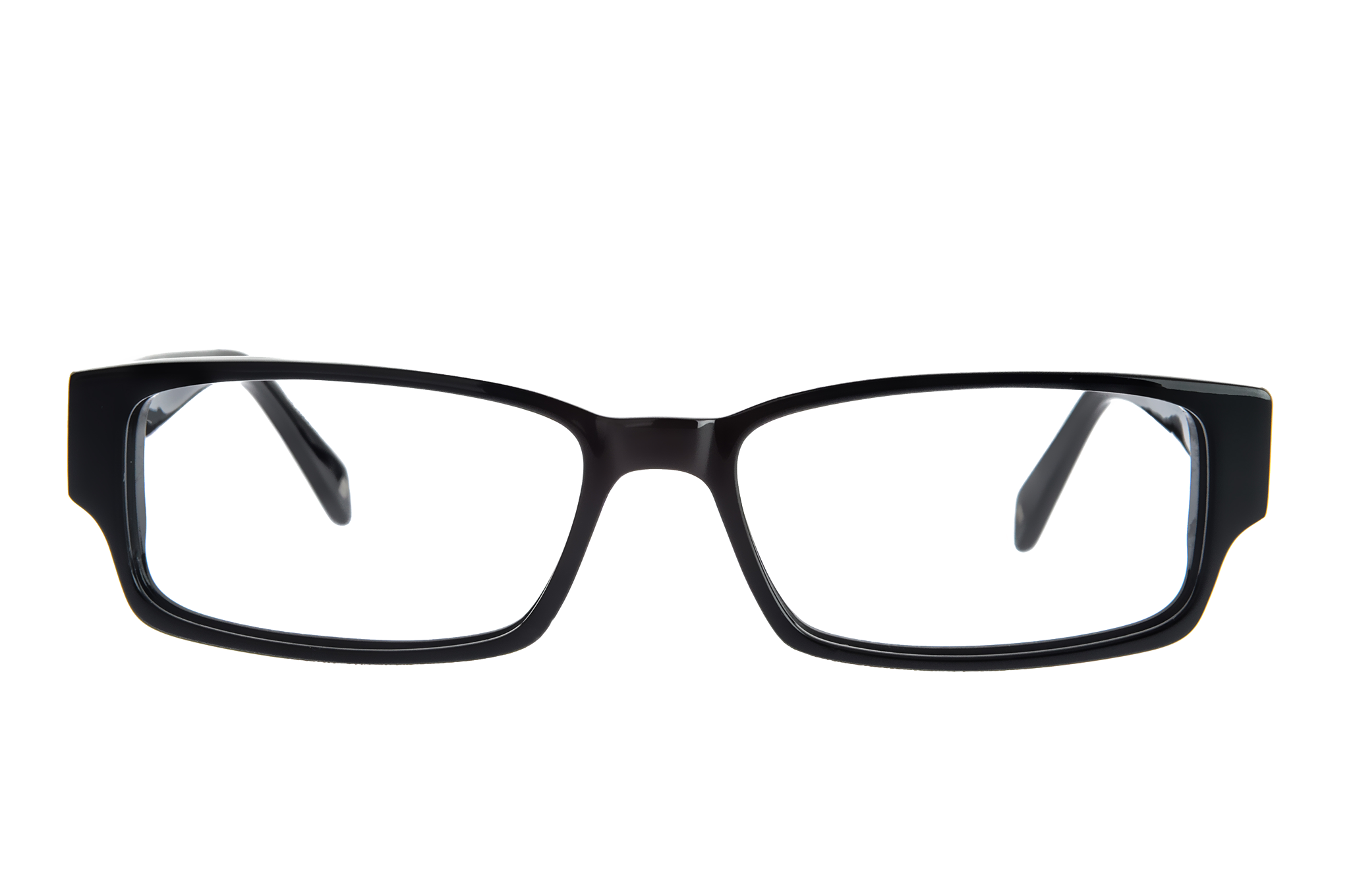 Transparent Frame Fashion Glasses : Cartoon Black Shades Png - ClipArt Best