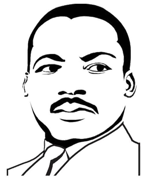 Cartoon Martin Luther King Clipart Best