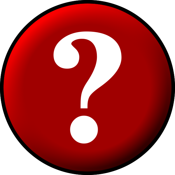 Funny Question Mark Clipart