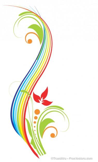 colorful swirl clip art clipart best