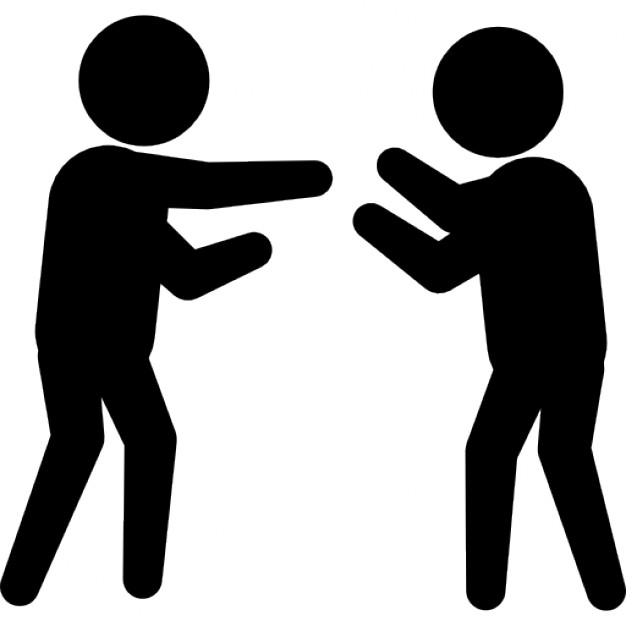 2 People Fighting - ClipArt Best