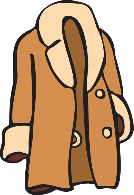 clipart of a jacket - photo #21
