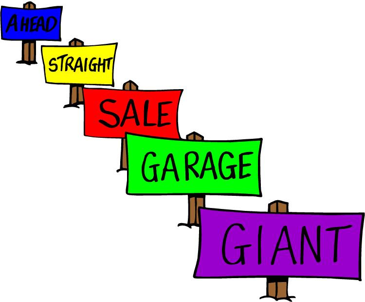 Community Yard Sale Clip Art Yard sale pictures clip art