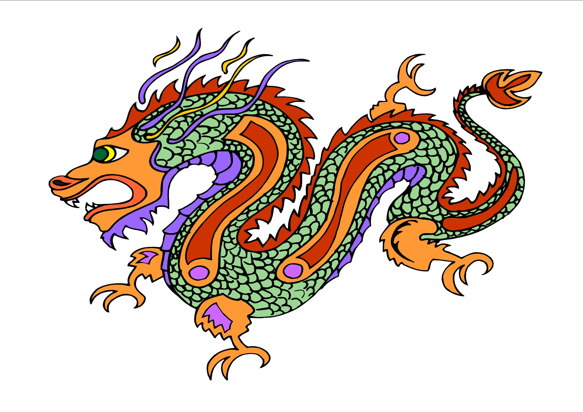 Ancient China Dragon - ClipArt Best