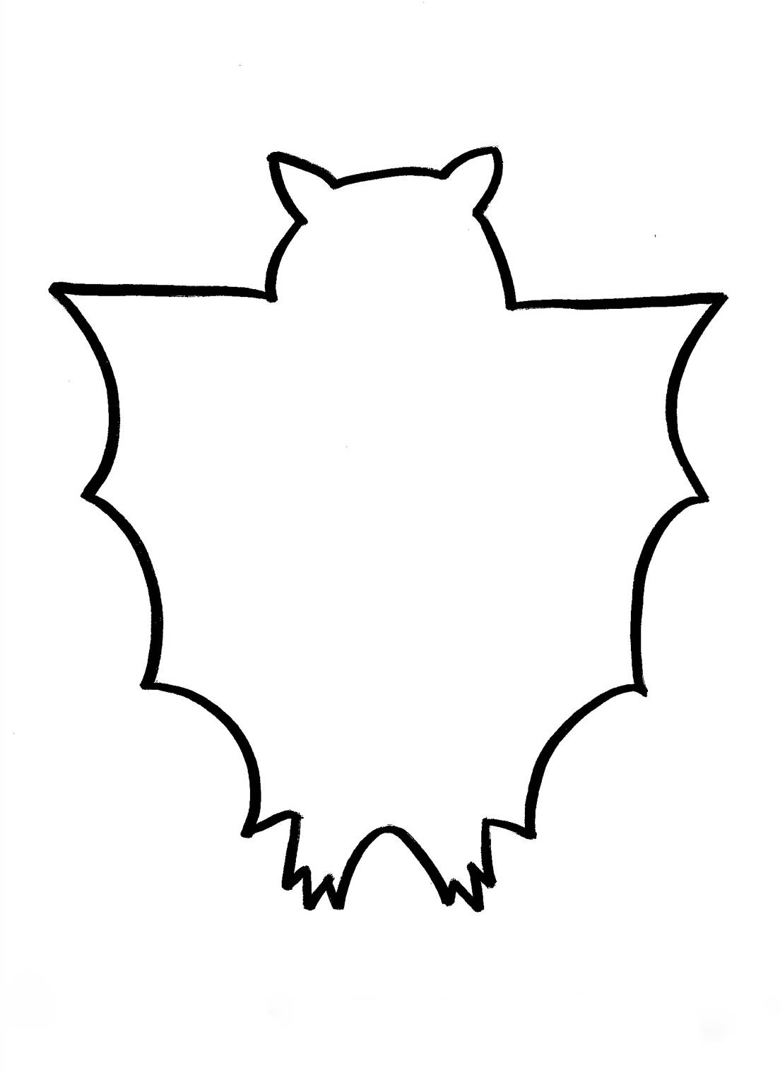 Bat outline clipart best for Bat candy bar wrapper template