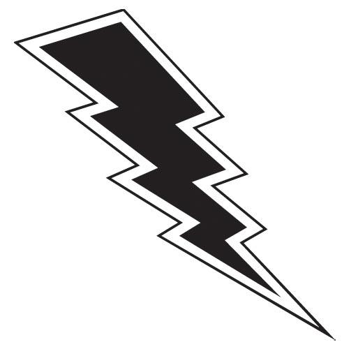 lightning bolt silhouette clipart best lightning bolt clip art b&w lightning bolt clip art blue