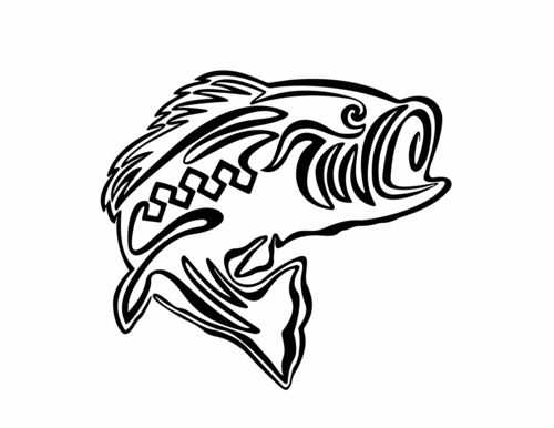 Lines Are Used In Art To Indicate : Line drawing of fish clipart best