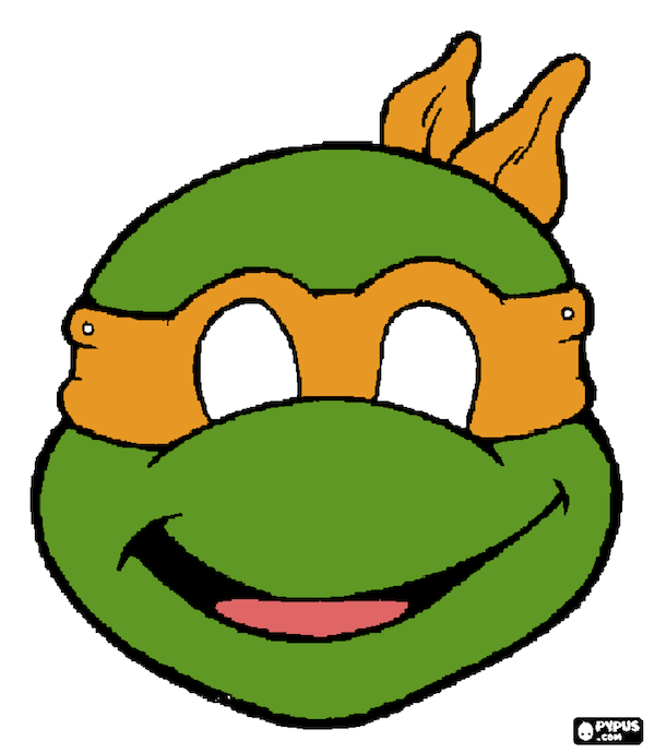 Decisive image for ninja turtle printable masks