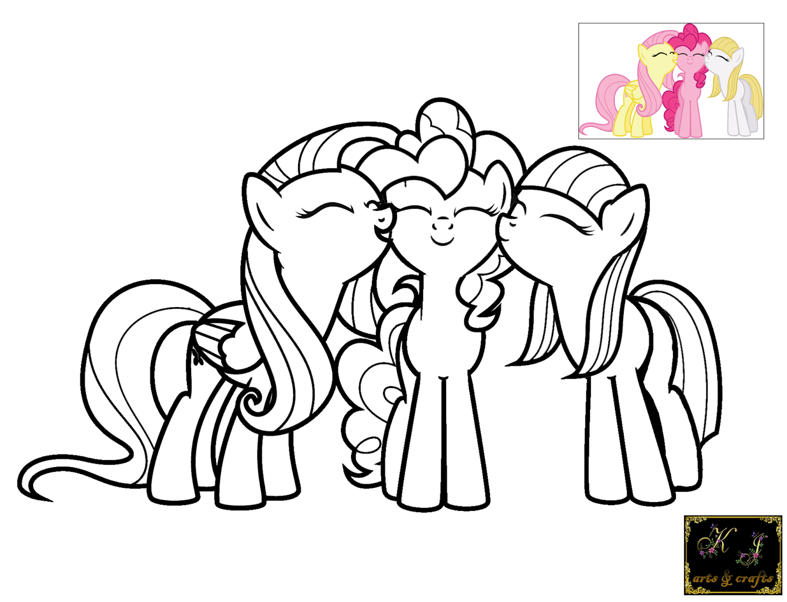 Pinkie Pie Coloring Pages #2444