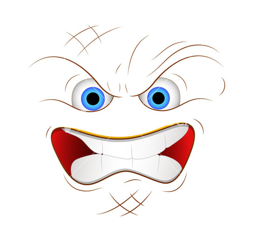 Cartoon Angry Faces - ClipArt Best