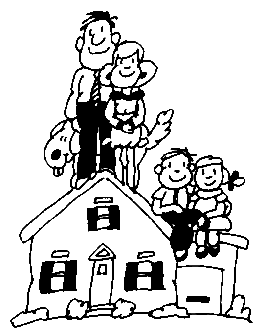 Home And Family Clipart - ClipArt Best