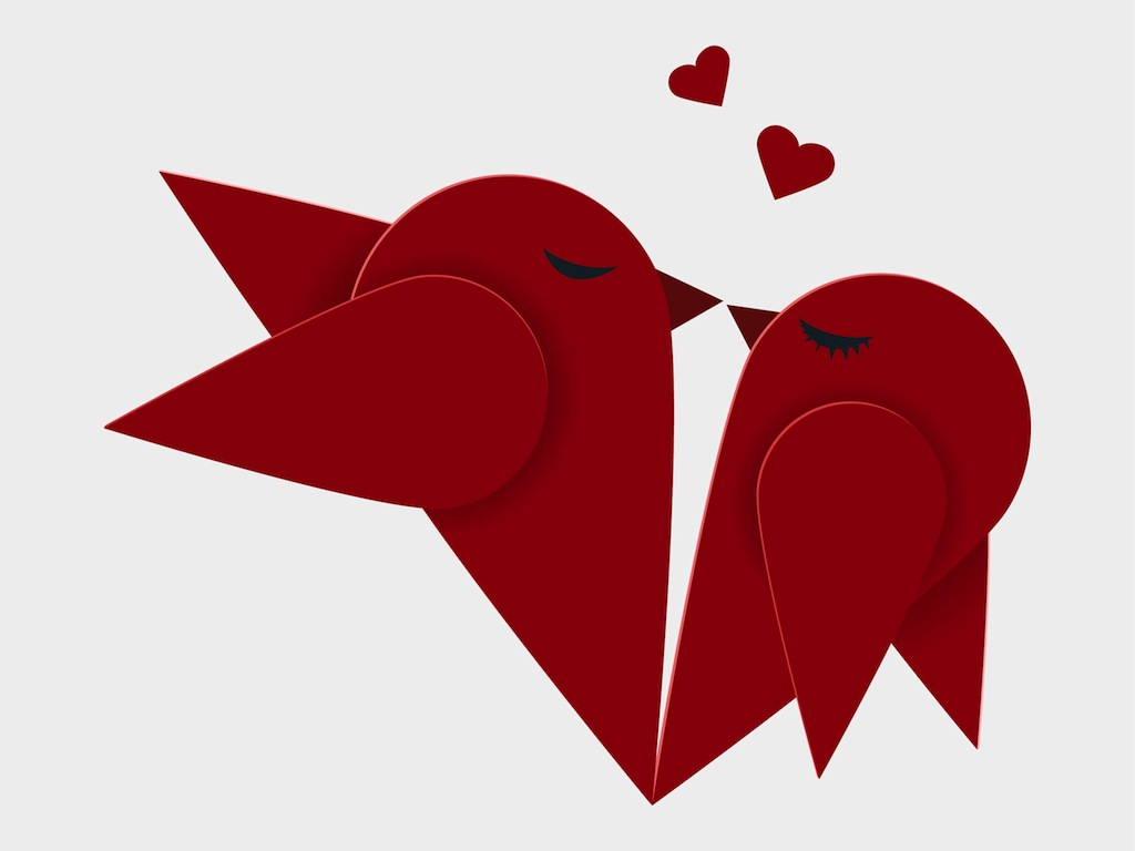 Love Birds Graphic - ClipArt Best