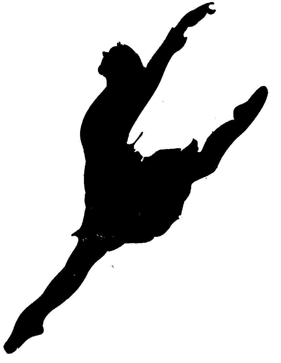 ballerina silhouette leap - photo #5