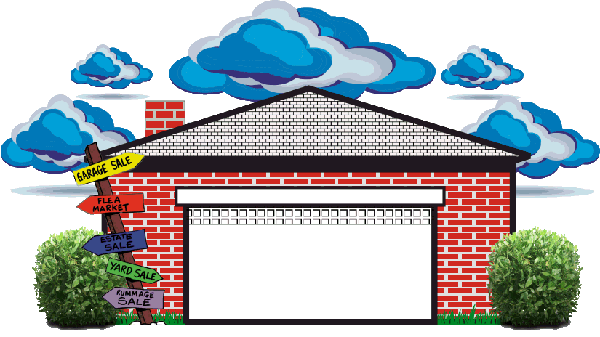 Garage door clip art - Yardsalesevents Com Welcome To The Yse In Your Community