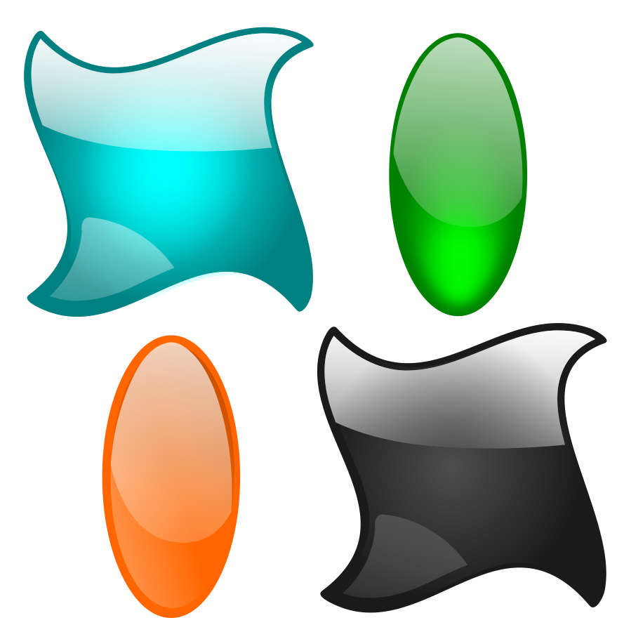 Shapes Designs Art : Clip art shapes and designs clipart best