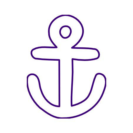 47 simple anchor outline . Free cliparts that you can download to you ...