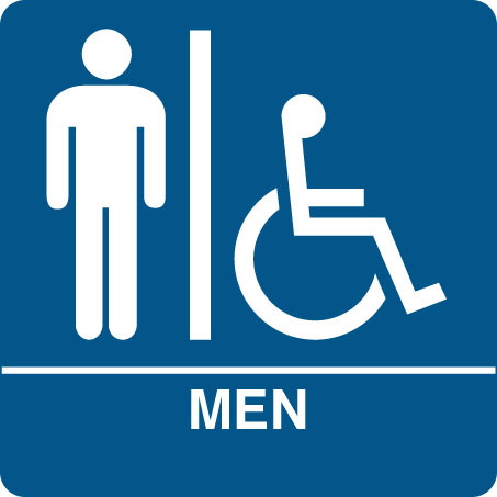 Men S Restroom Sign Clipart Best