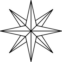 How To Draw A Compass Rose - ClipArt Best
