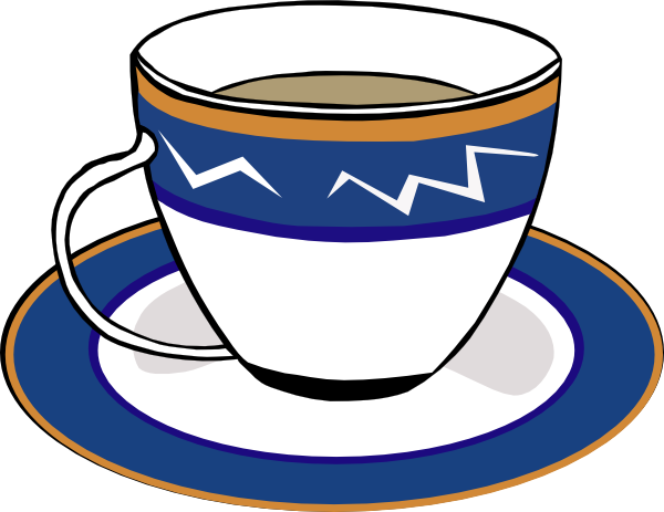 Animated Moving Tea Cup Clipart
