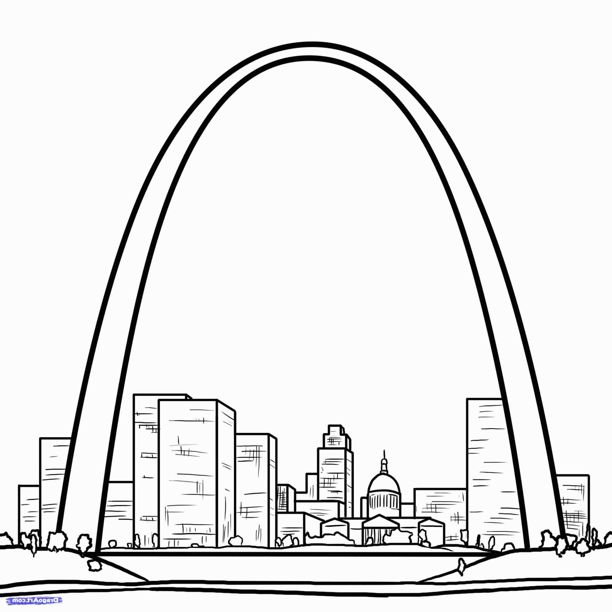 St Louis Skyline Drawing - ClipArt Best