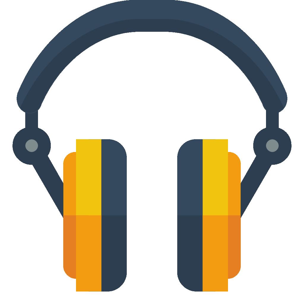 headphone cartoon png clipart best Earbud Vector Free earphone vector free download