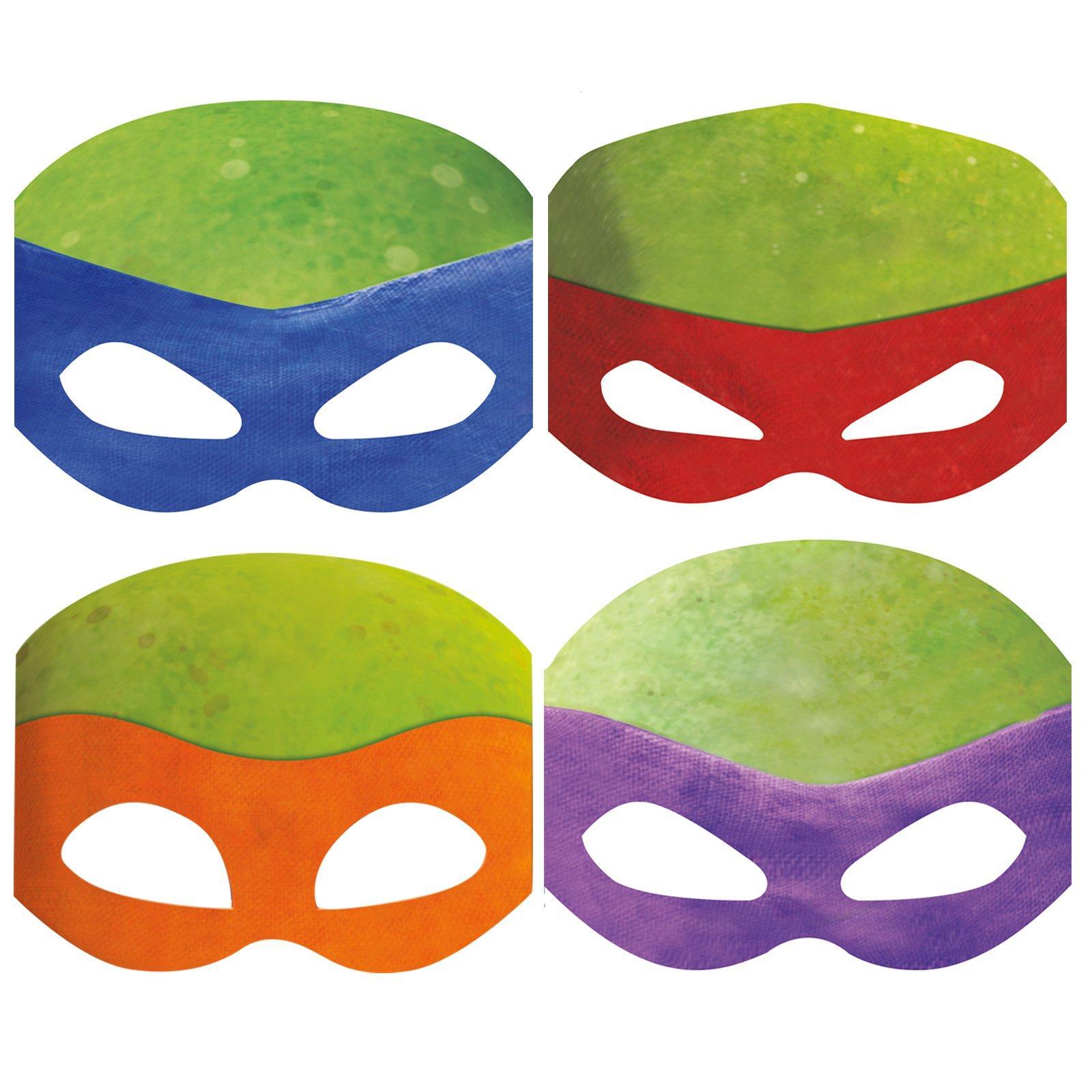 Как сделать маску черепашек