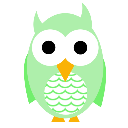 cute owl drawing clipart best