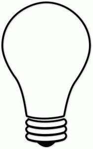 Lightbulb Template