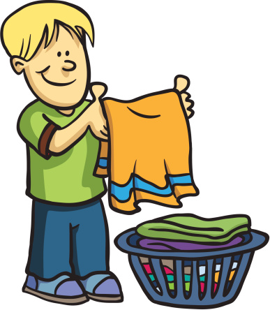 cartoon picture of boy doing chores clipart best Clean Laundry Clip Art Doing Laundry Clip Art
