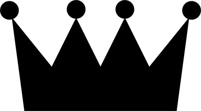 Stencil King Crown: King Crown Template Printable