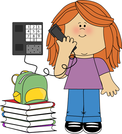 To Talk On The Phone Clipart