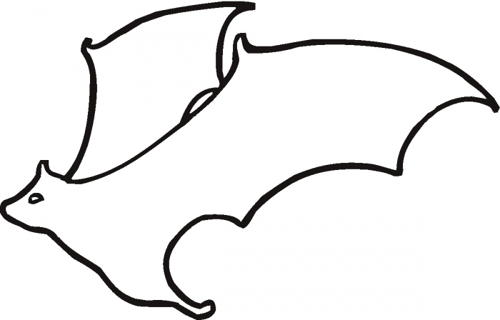 Coloring Page Of A Vampire Bat