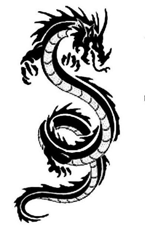 Black And White Pictures Of Dragons - ClipArt Best