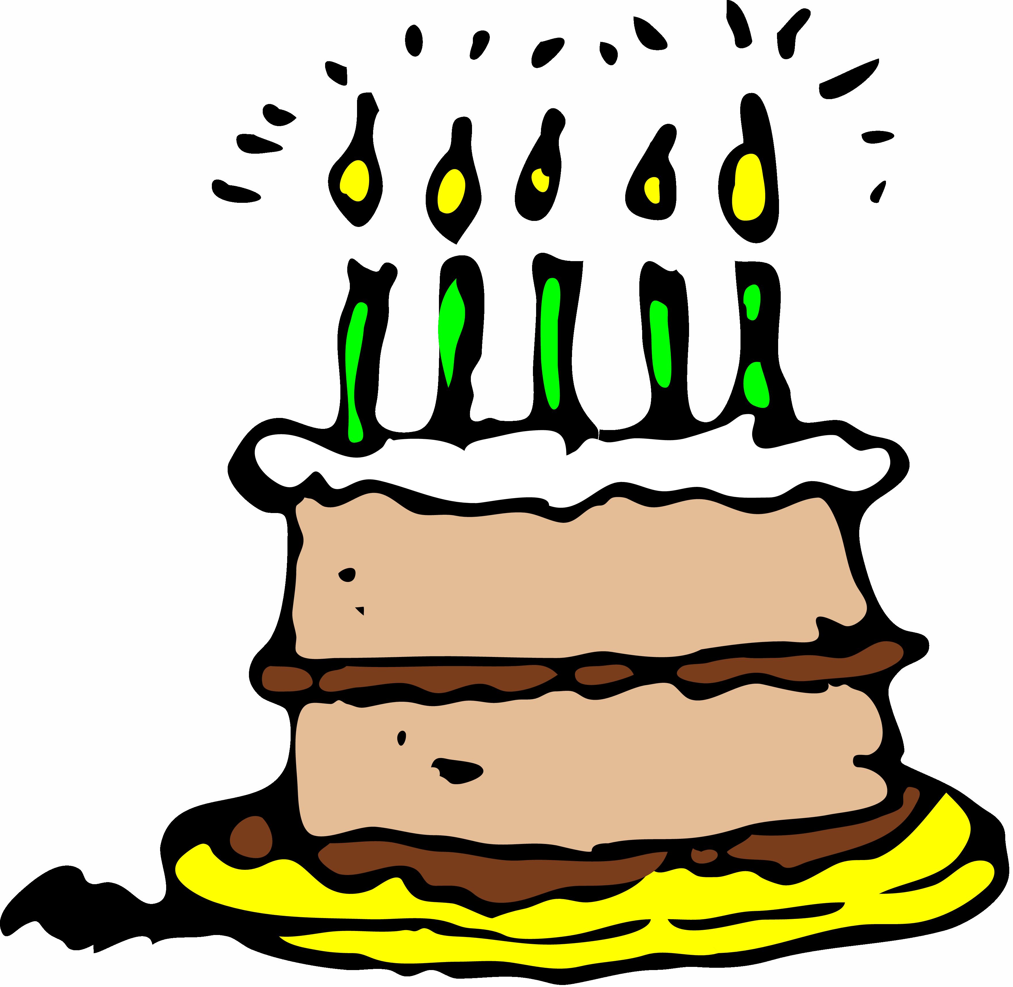 Free Birthday Cake Clip Art - ClipArt Best