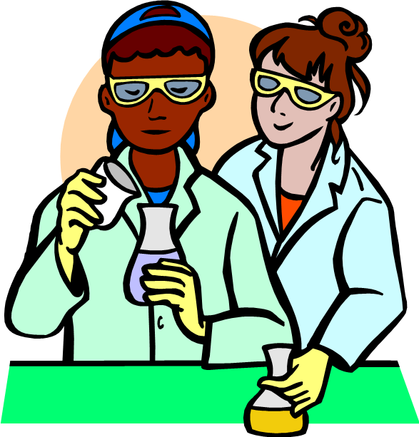 Test Tubes For Science Experiment Cartoon Test Tube Science