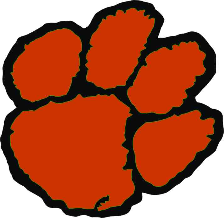 tigers paw clipart best