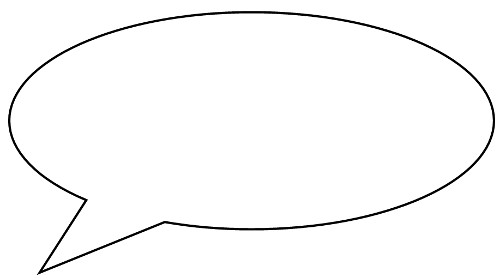 speech bubble in which everyone might compose in