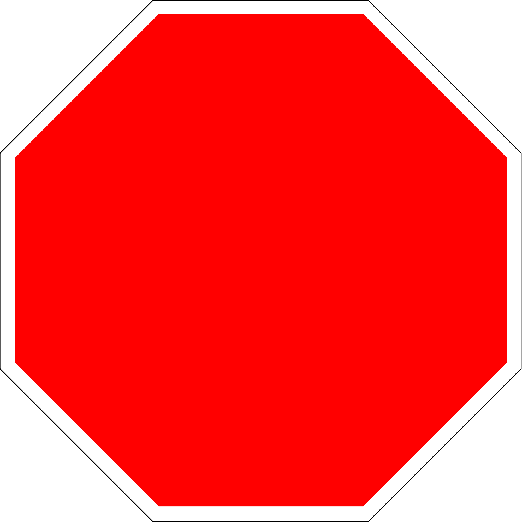 Blank Stop Sign Printable - ClipArt Best