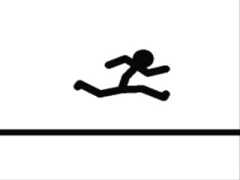 Stick Figure Running Cycle Running Figure With K ...