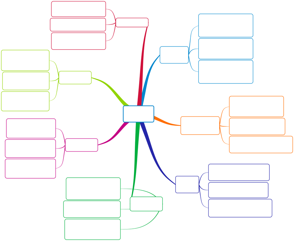 blank mind map clipart best
