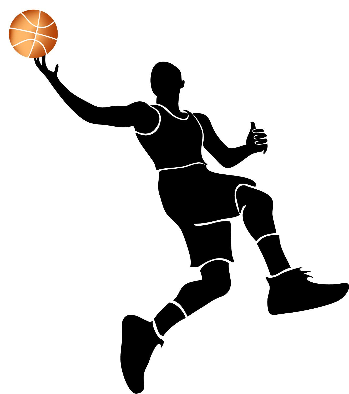 Basket Ball Player Vector - ClipArt Best