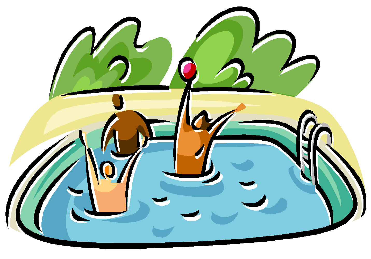 Swimming Pool Clip Art Clipart Best