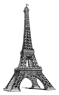 Tour Eiffel Drawing - ClipArt Best