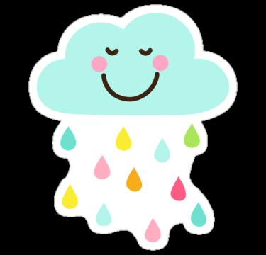 happy cartoon raindrop clipart best