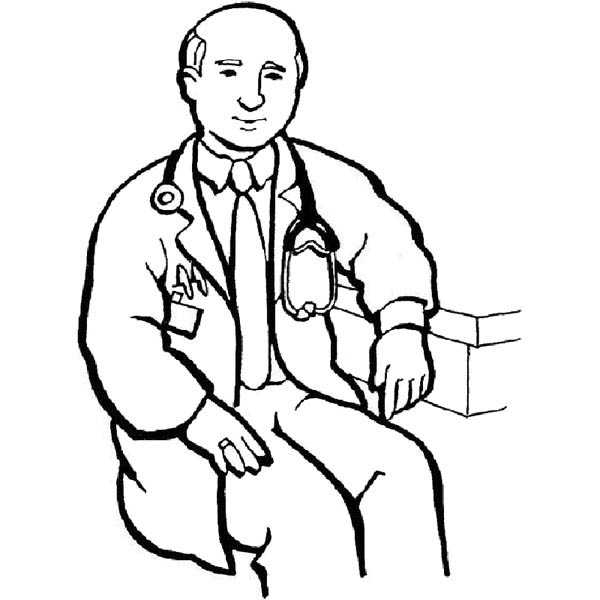 free printable coloring pages doctors - photo#27