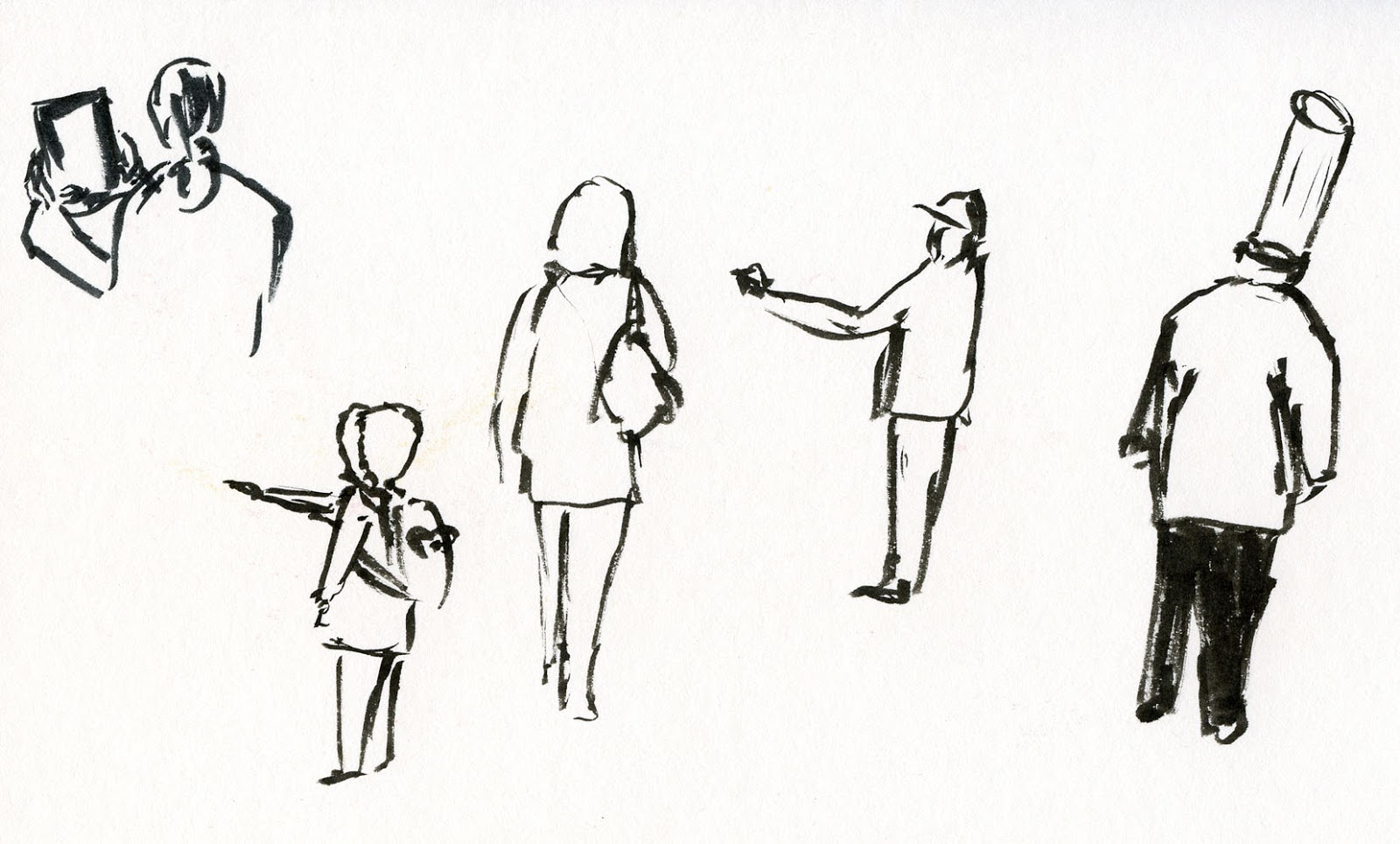 Line Art Village : Line drawing human back clipart best