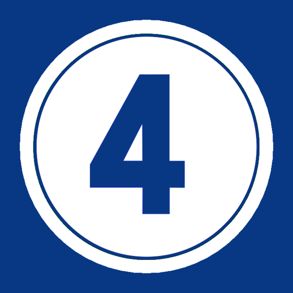 Number 4 Image